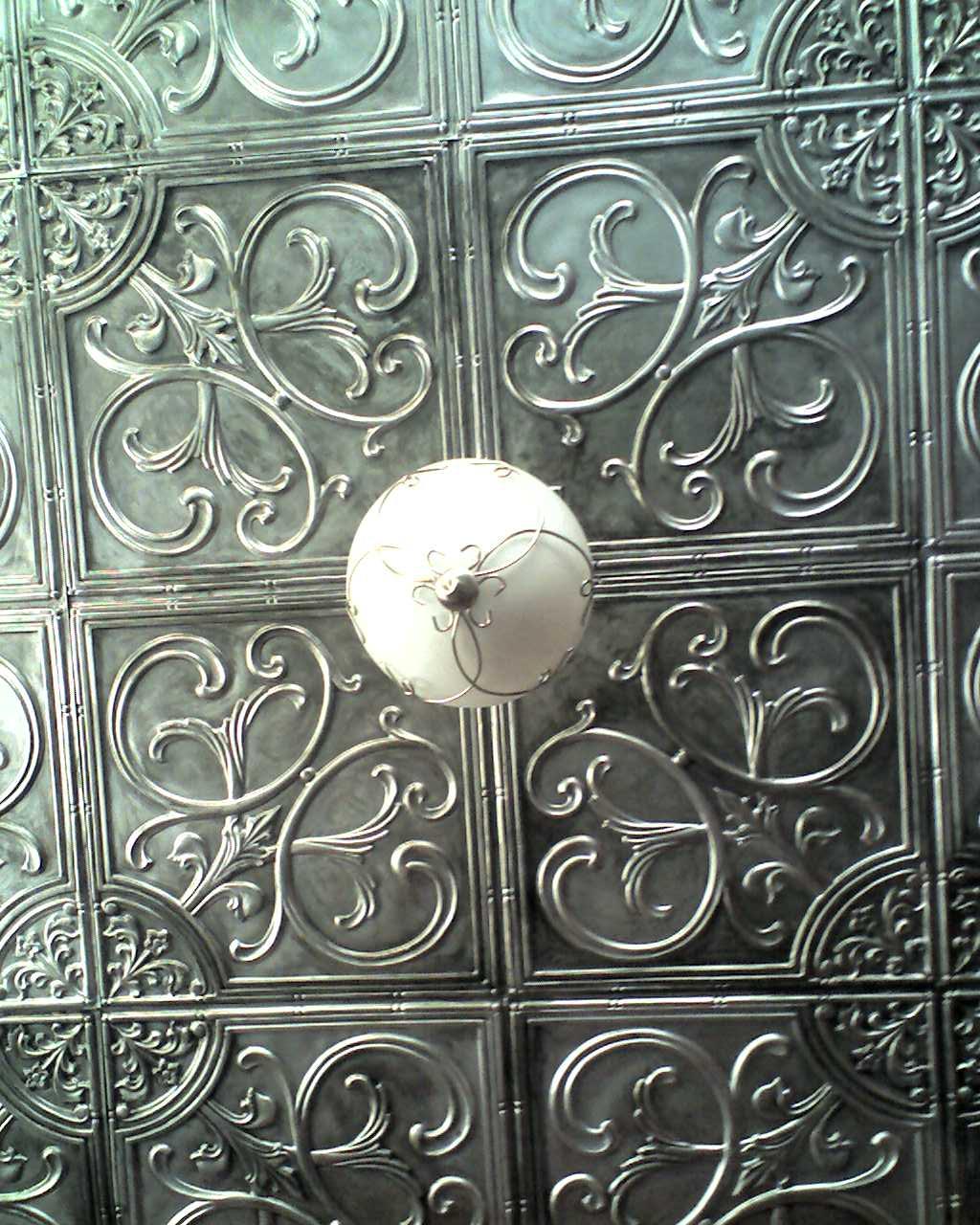 Ceiling Tile Wall Art
