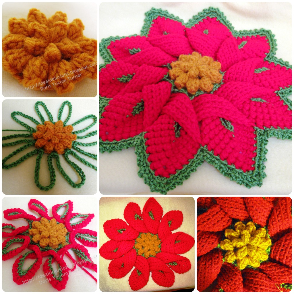 Crochet Stitches That Look Like Flowers : ... is ezcellent if you wish to make your trivets look like flowers