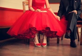 novias de rojo