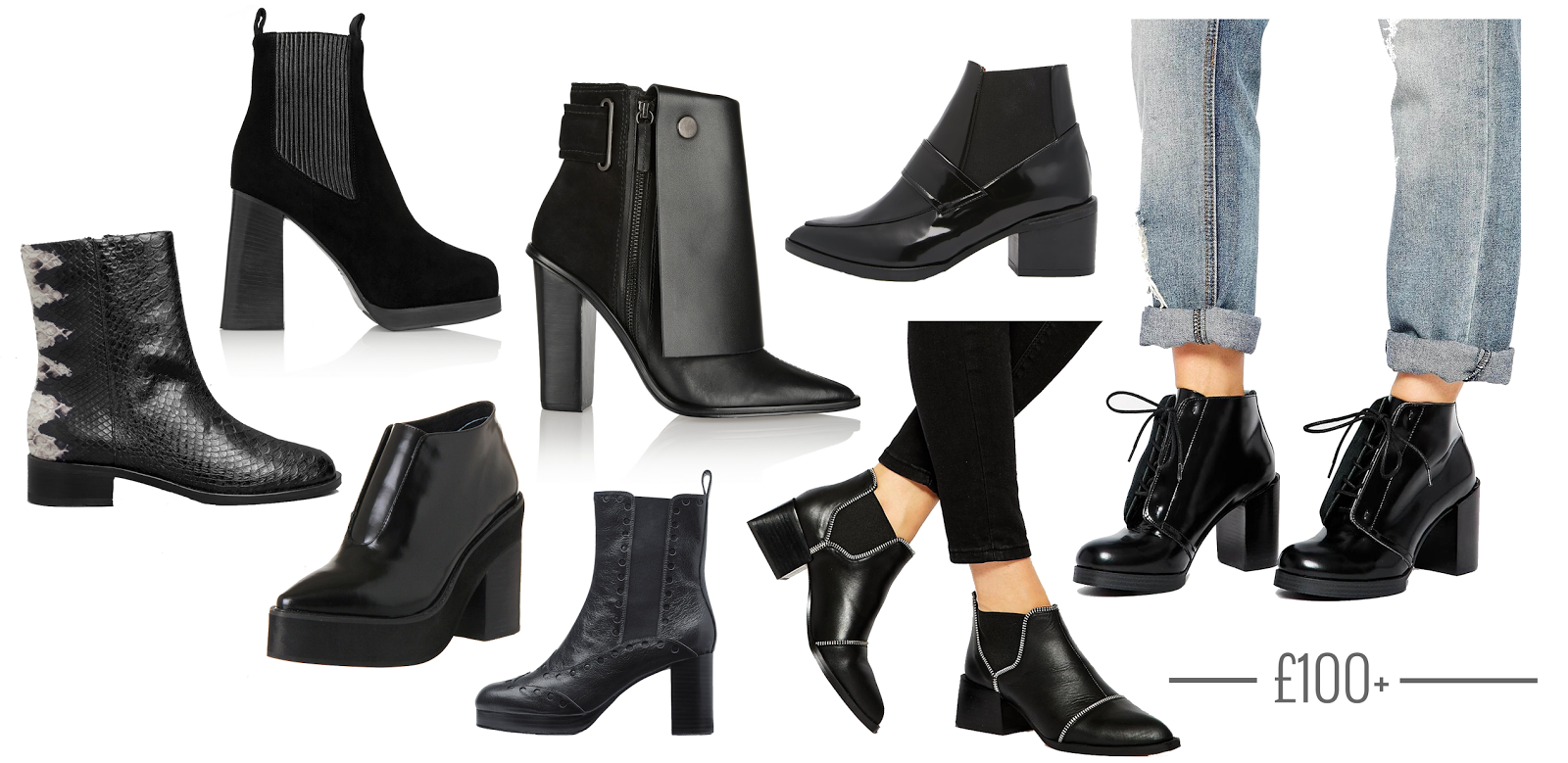 best black ankle boots Archives - Hannah Louise Fashion
