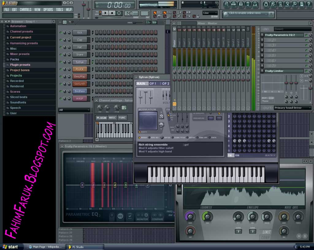 fl studio 6 0 8: