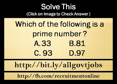 Which of the following is a prime number