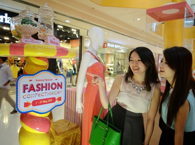 Fashion Confectionery, Sugarlicious Surprises, Sunway pyramid, fashionista, shopping
