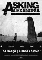 Asking Alexandria em Lisboa