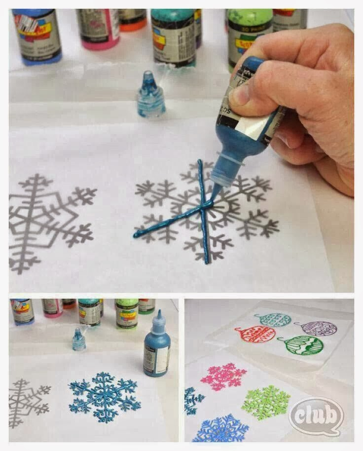 Paint a Snowflake