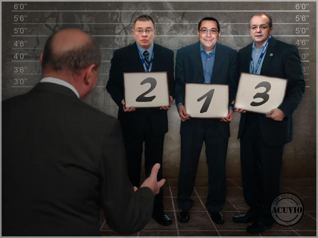 Funny photo Traian Băsescu Victor Ponta Răzvan Ungureanu Emil Boc