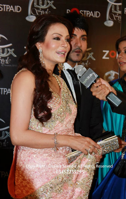 Sadia Imam at LUX Style Awards 2012