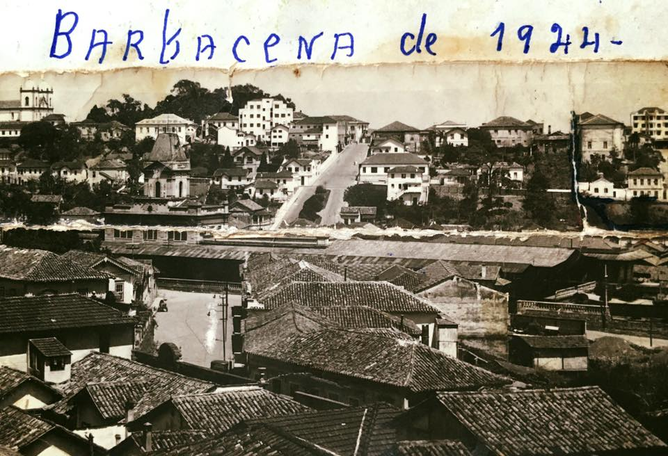 Vista panoramica de Barbacena 1944