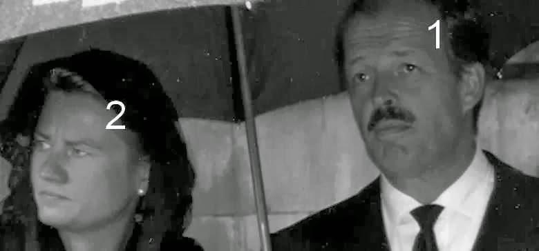Andreas Prince zu Leiningen et  princesse Alexandra de Hanovre