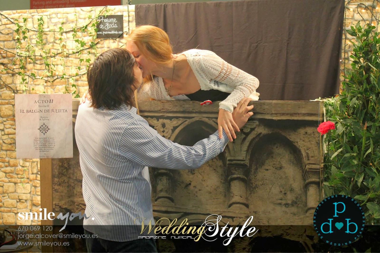 Wedding planner Madrid photocall/photobooth
