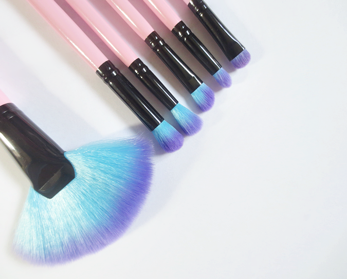 Spectrum Collections makeup brushes fan