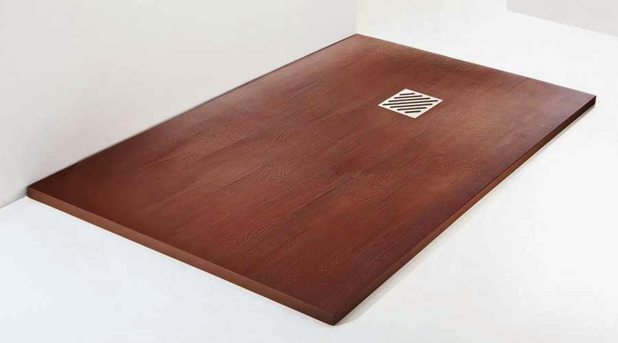 Platos de ducha decorativos plato ducha madera - Duchas de madera ...