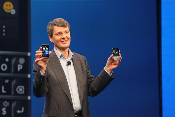 Thorsten Heins introduces the Q10 and Z10