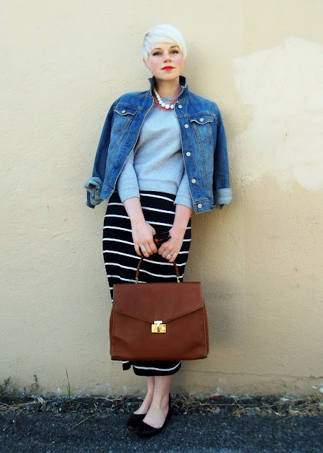 how to style, fall fashion, what i wore, sport luxe, pixie cut, style, seattle street style, red lipstick