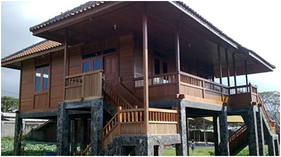 Minimalist Wooden House Design