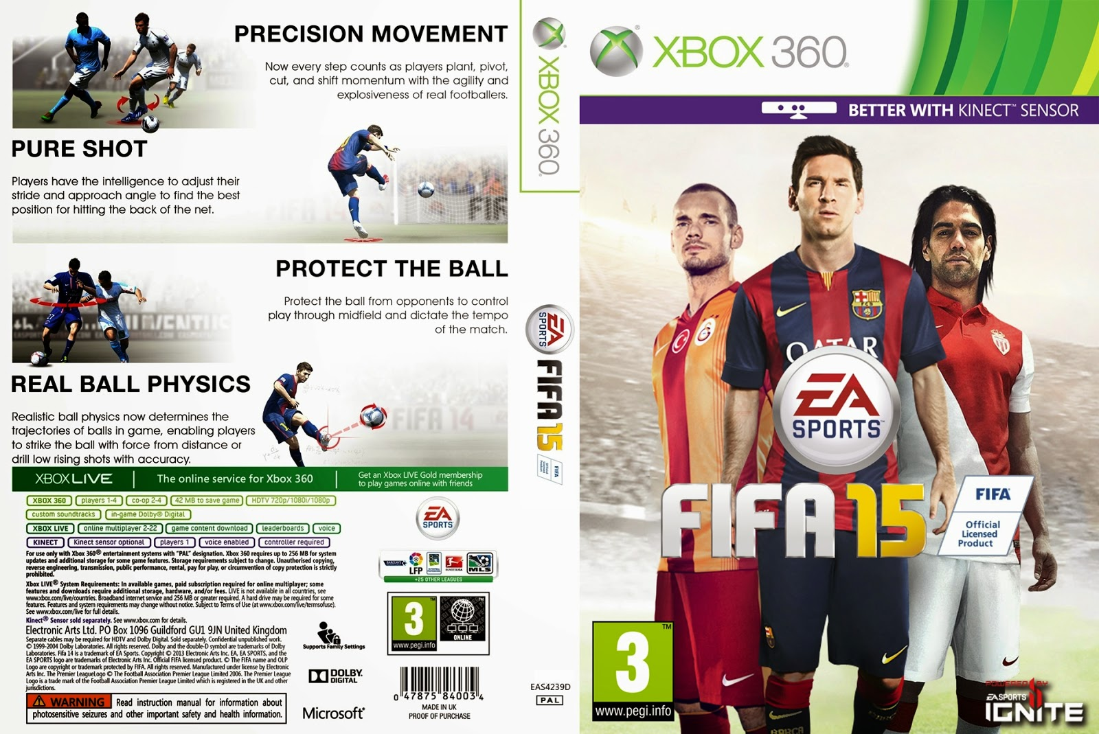 FIFA 15 [2015] ? Xbox 360 Cover