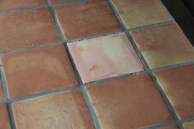 replacing a broken tile
