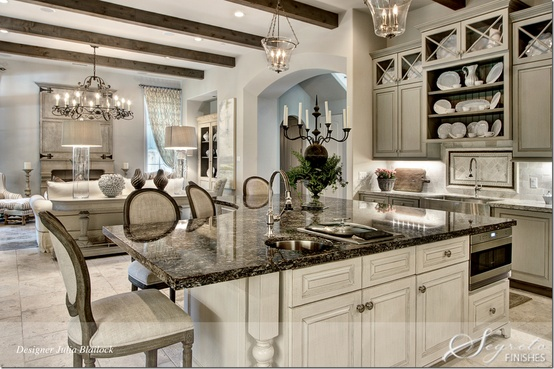 Islands of my dreams take 1 preppy empty nester f for Magnificent kitchens