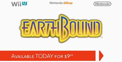 Earthbound Wii U Virtual Console July 18