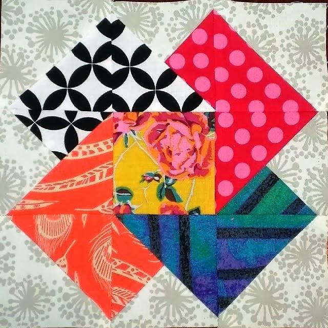 Gypsy Wife Color Wheel Block