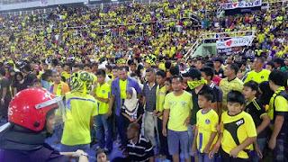 Pencetus Hura-Hara di Stadium Darul Makmur Ditangkap!!!