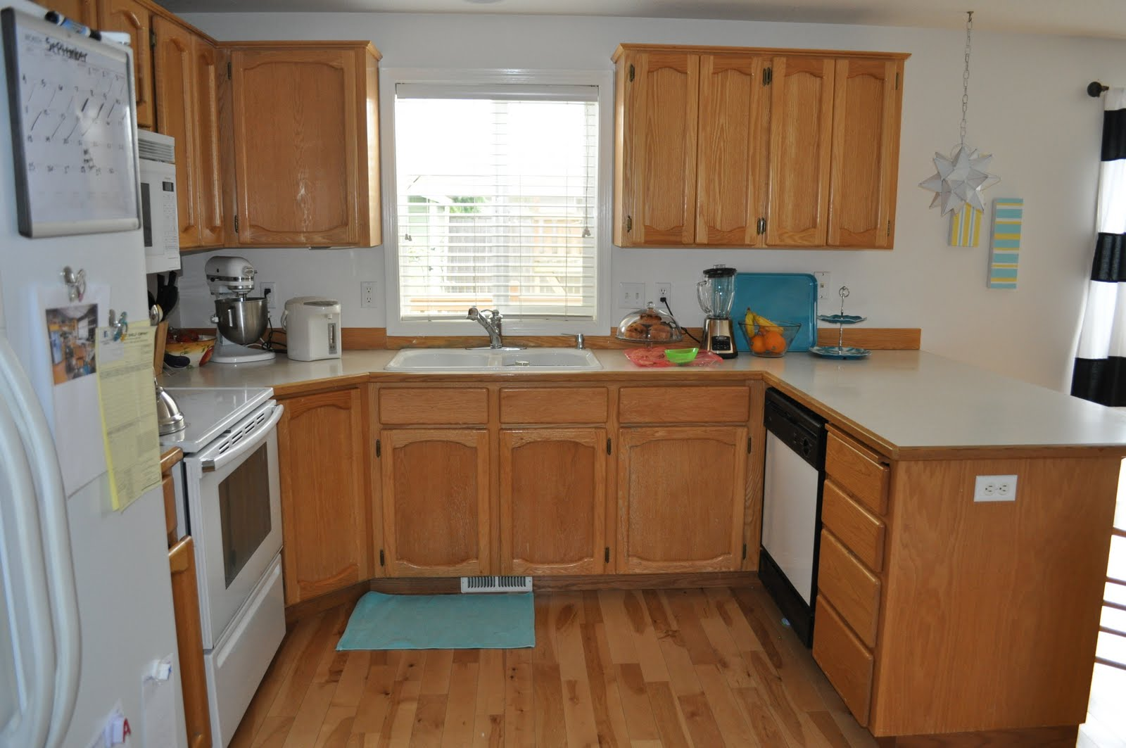 Suburbs Mama Kitchen Remodel In The Works - Small u shaped kitchen remodel ideas