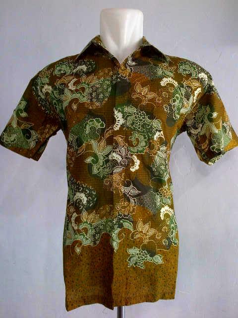Batik Printing Hem Cowok Dengan Bahan Yang Dingin
