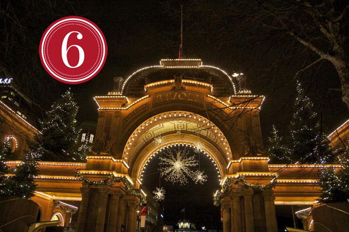 Amalie loves Denmark Tivoli in Kopenhagen zu Weihnachten 2012