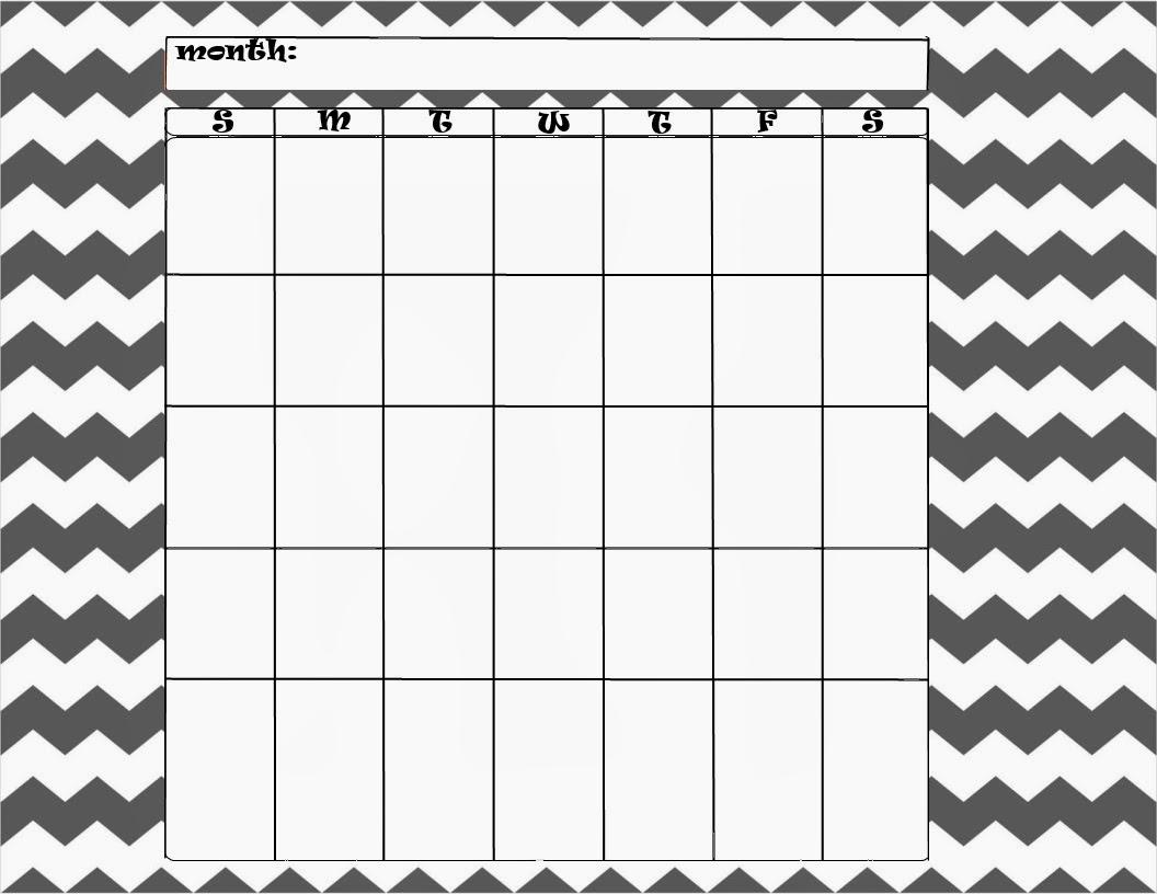 Cute Blank Calendar Templates | Search Results | Calendar 2015