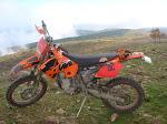 La moto de David (Ktm 450 4 t)