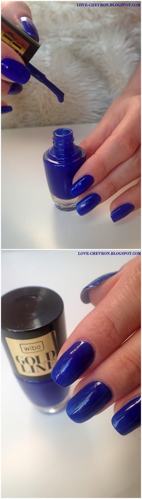 lakier do paznokci wibo kobaltowy