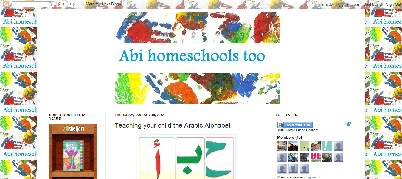 Teaching the Arabic Alphabet