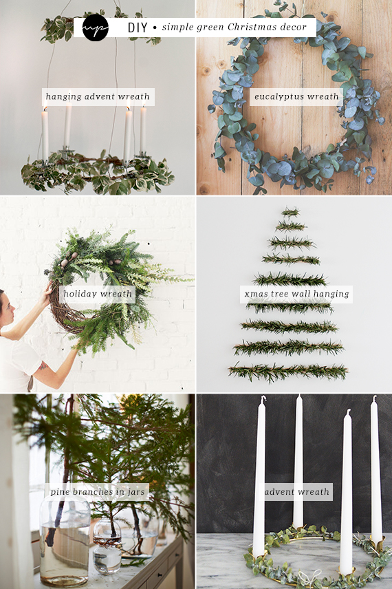 DIY: Simple green Christmas decor | My Paradissi