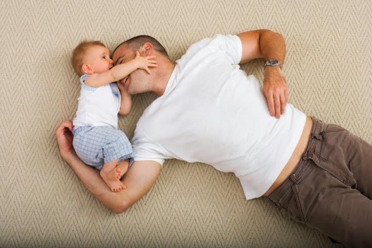 μπαμπας και γιος