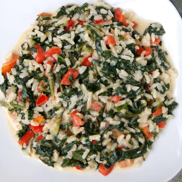 danie z ryżem