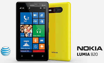 Nokia Lumia 820 - AT&T USA
