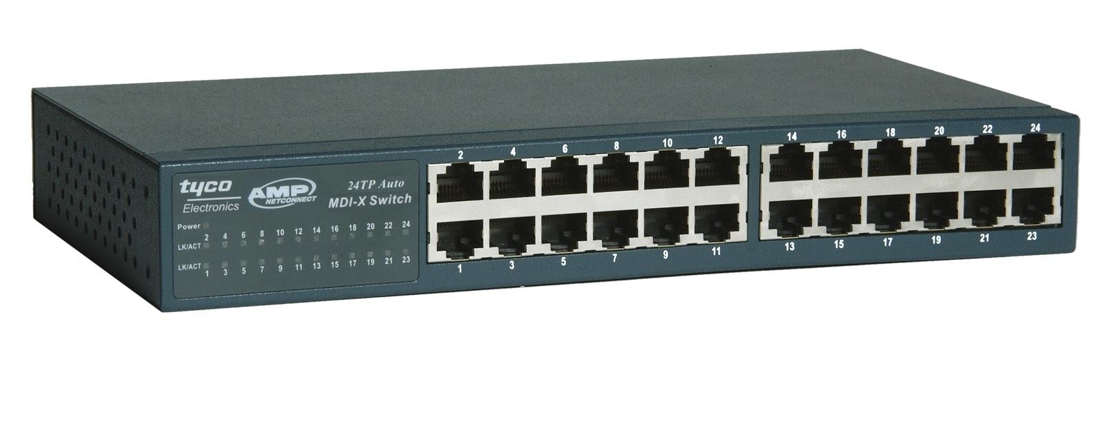 Definisi dan Fungsi HUB, Switch, Repeater, Bridge, Router