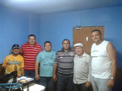 ESTÚDIO DA RÁDIO COMUNITÁRIA LIMA CAMPOS FM