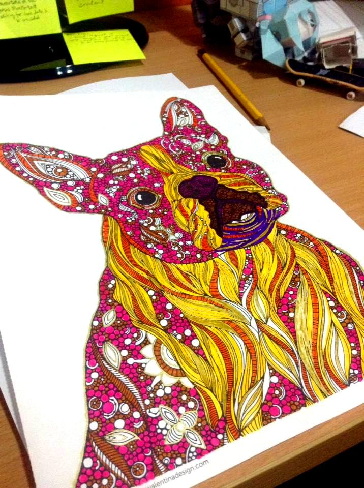 Dogs From Creative Coloring Animals