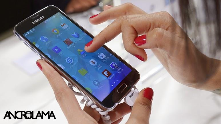 Samsung Galaxy S5 için Android 4.4.4 Güncellemesi