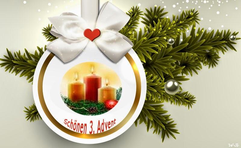Schöne Adventsbilder 3. Advent