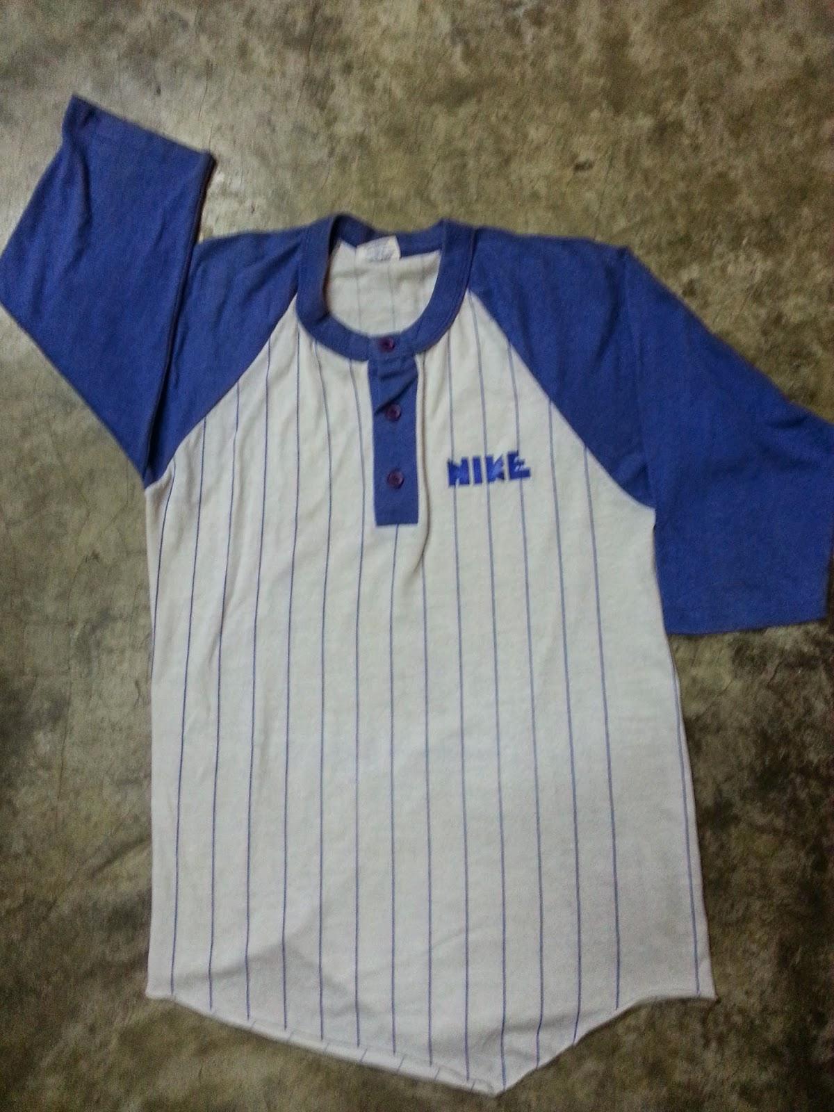 vintage nike block t shirt