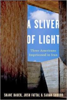 http://www.amazon.com/Sliver-Light-Three-Americans-Imprisoned/dp/0547985533