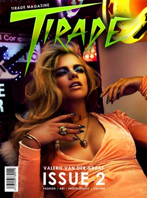 Valerie van der Graaf Covers Tirade Magazine #2