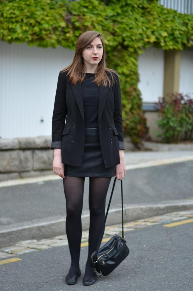 Ohcommentçava - Jupe faux cuir Zara