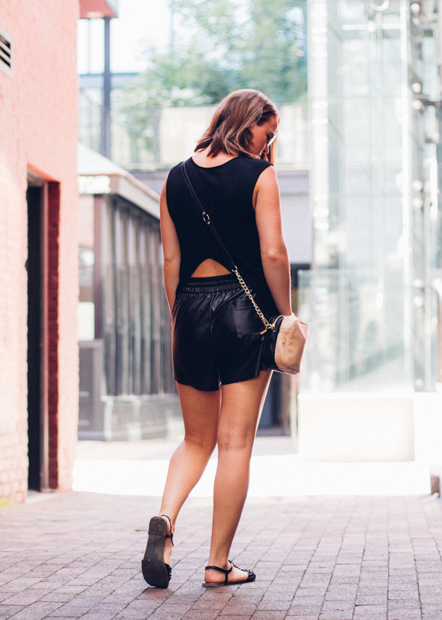 New in wardrobe, Olivia & Joy bag and G:21 sandals on In My Dreams, a Canadian Personal Style and Fashion blog.