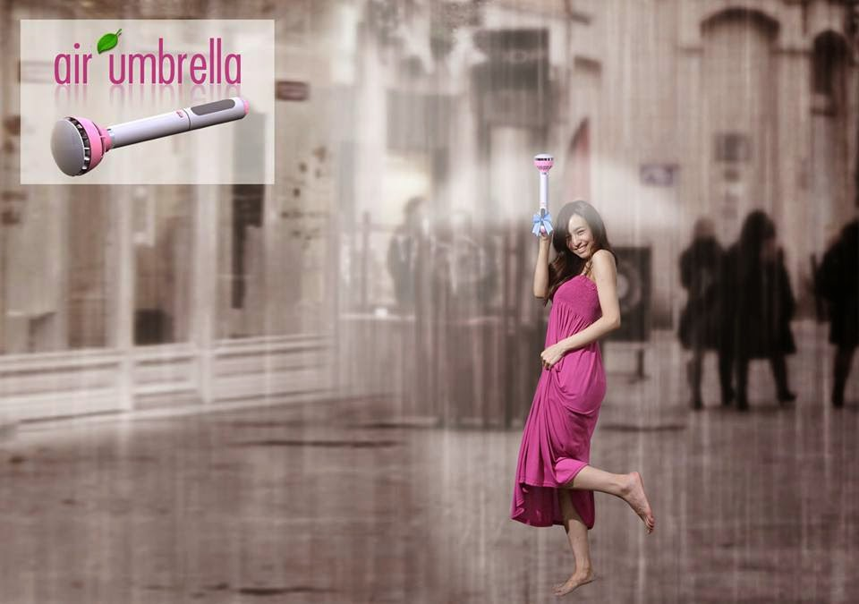 találmány, esernyő, air umbrella, technológia,