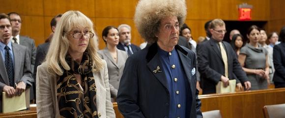 Helen Mirren e Al Pacino em PHIL SPECTOR