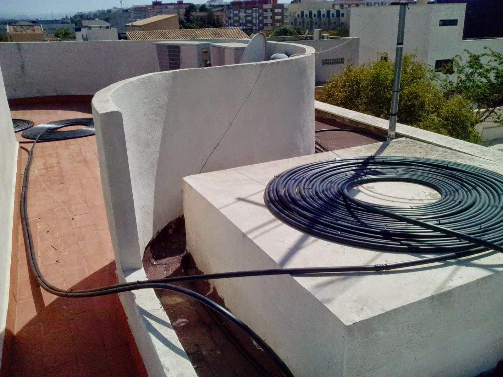 Tecnolog a para un progreso sostenible sistema de for Calentar agua piscina casero