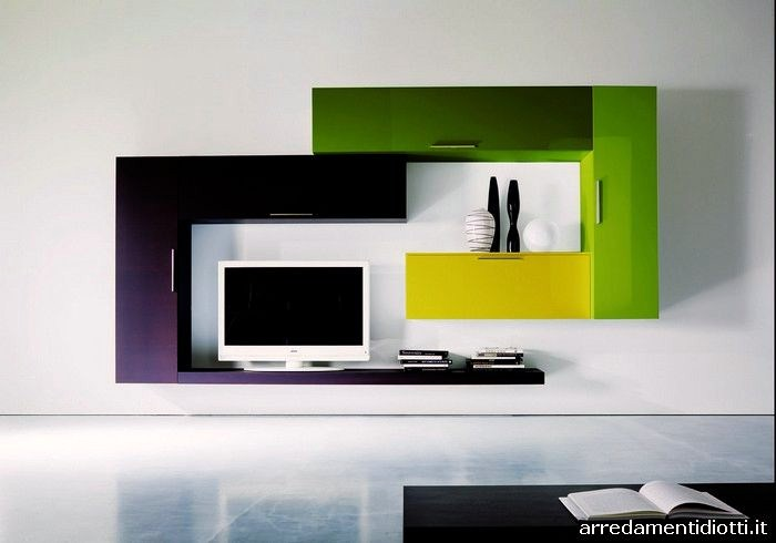 Arredamenti diotti a f il blog su mobili ed arredamento - Parete attrezzata moderna ikea ...